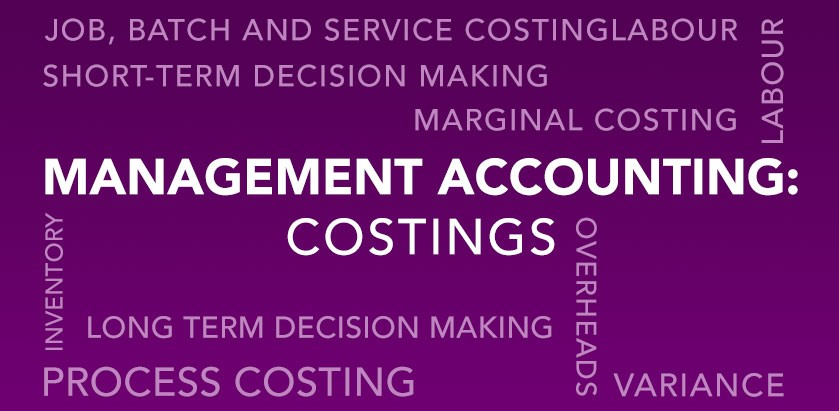 Management Accounting – Costings